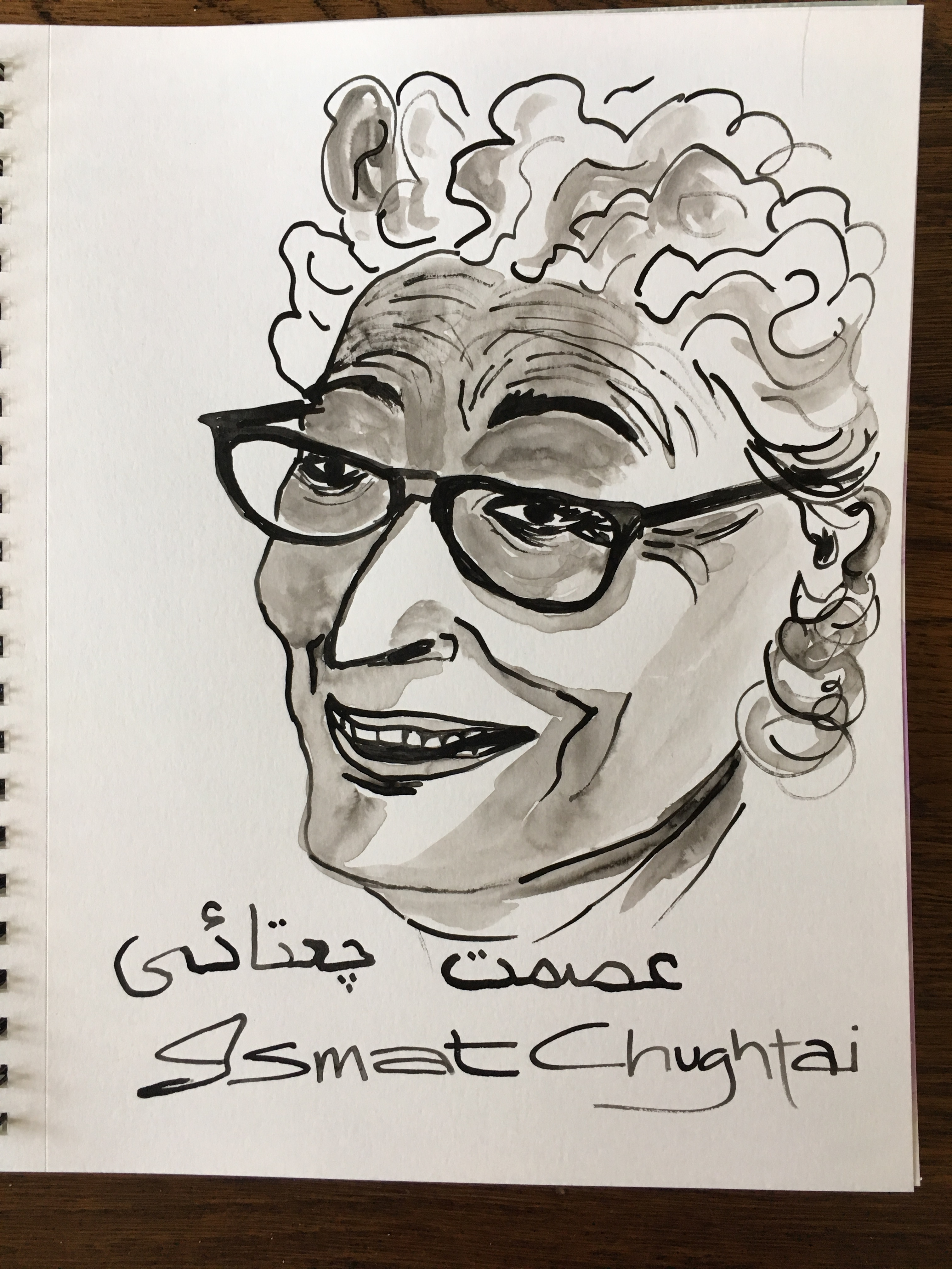 ismat chughtai Ismat chughtai: google celebrates the writer's 107th birthday with a doodlegoogle is celebrating the 107th birth anniversary of famous urdu writer ismat chugtai ismat chugtai was the first .